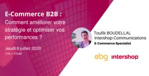 #RETAIL - E-COMMERCE BTOB: COMMENT AMÉLIORER VOTRE STRATÉGIE ET OPTIMISER VOS PERFORMANCES? By EBG
