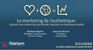 #MARKETING - Marketing de l'authentique  - By ADETEM
