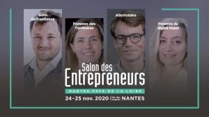 #ENTREPRENARIAT - Salon des Entrepreneurs à Nantes - By Les Echos Le Parisien Événements @ Cité des Congrès - Nantes
