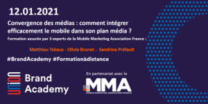 #MARKETING - Comment intégrer efficacement le mobile dans son plan média ? By MMA