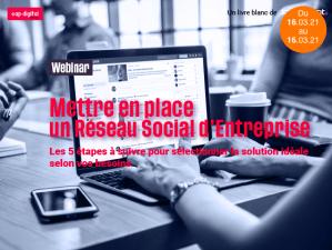#TECHNOLOGIES - Mettre en place un Réseau Social d'Entreprise - By PICOM