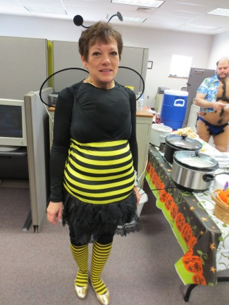 Anita as a bee