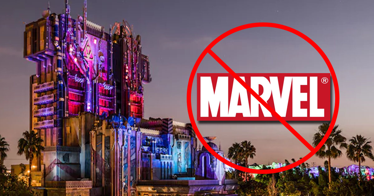 Disneyland Can T Mention Marvel In New Land Due To Universal