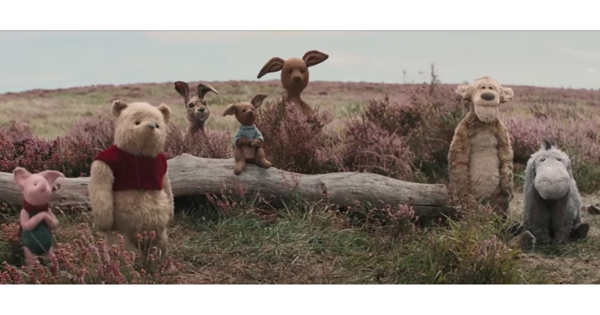 Winnie the Pooh & Friends Come to Life in Disney's 'Christopher Robin'