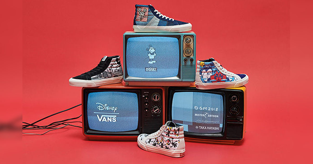 f28391935ae2 New Vault By Vans Disney Collection Celebrates 90 Years of Mickey ...