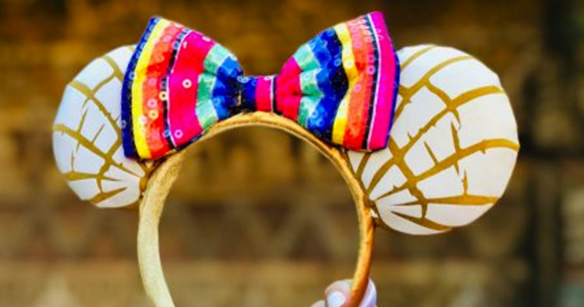 New Mexican Sweet Bread Minnie Ears Now Available At