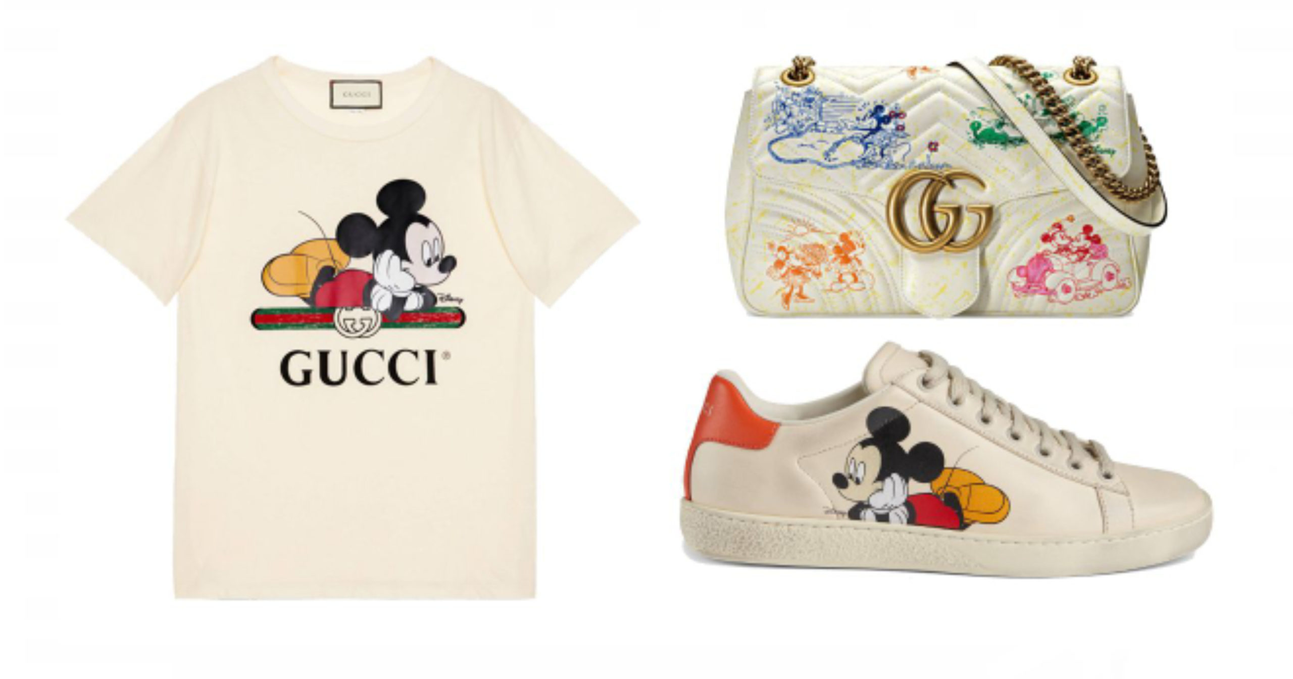 Disney and Gucci Release New Mickey Mouse,Themed Collection