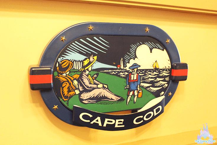 Petit-déjeuner au Cape Cod
