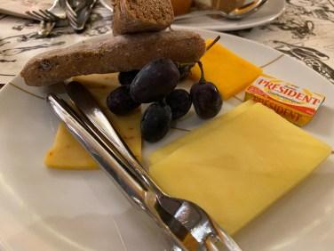 Assortiment de fromages américains