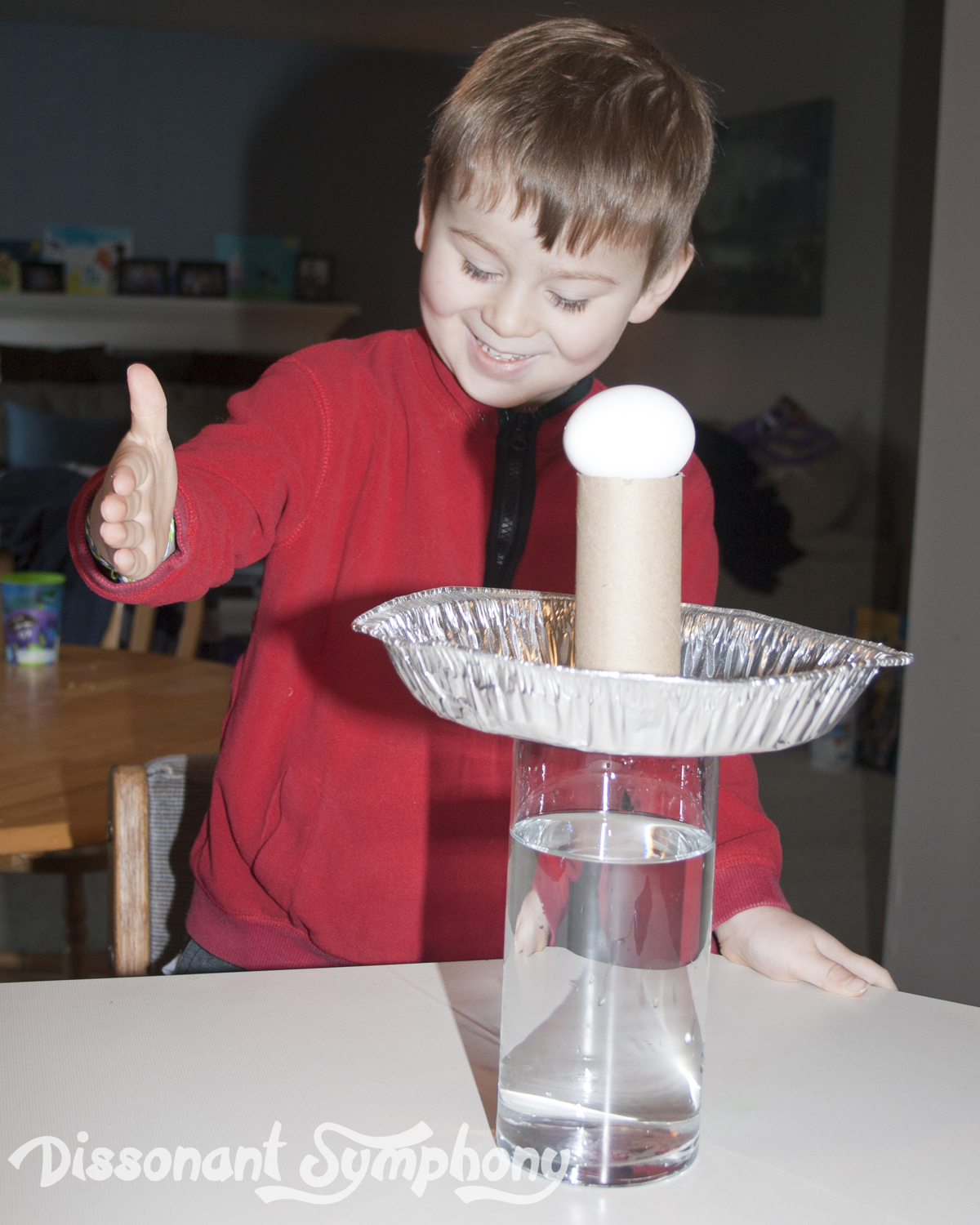 Science Experiment Newton S First Law Of Motion