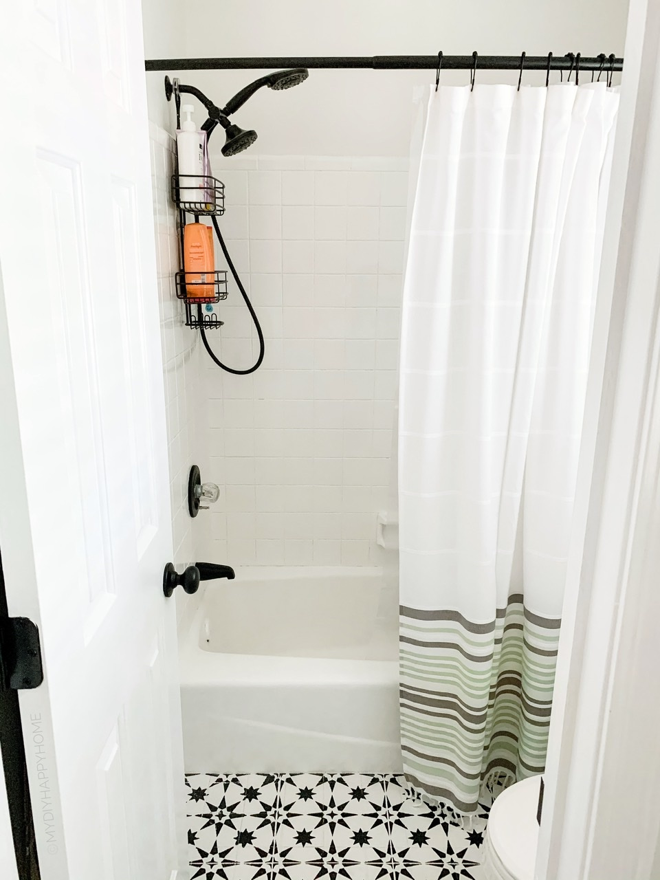 From Ugly To Wow How To Paint Bathroom Shower Tile
