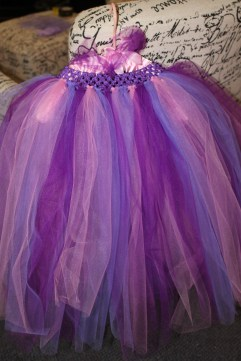 first attempt at creating a tutu dress...this one was for my 2 year old great niece