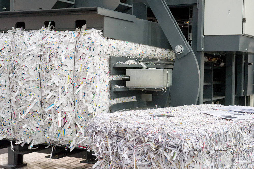 Secure Shredding Plant Wilmington MA