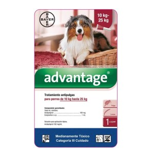 Advantage Perros 10kg a 25 kg