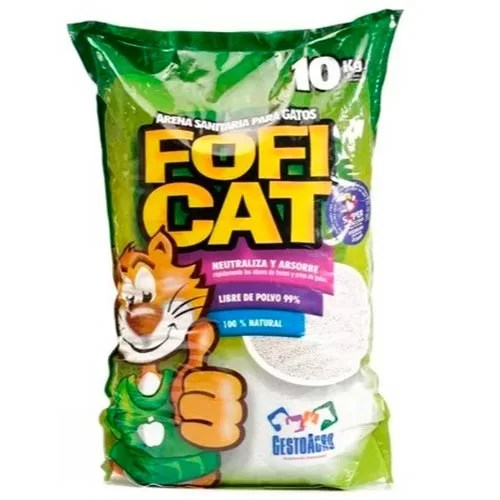 Arena para Gatos Foficat 10 Kg