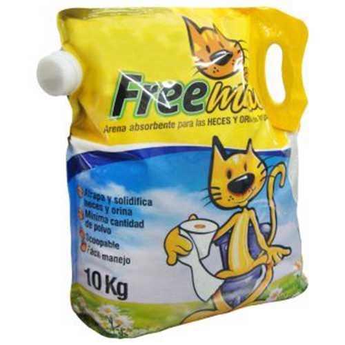 Arenas para gato freemiau 4.5 kg