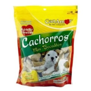 Galletas para Cachorros Canamor por 250 gr