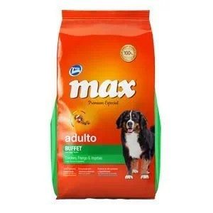 MAX ADULTOS BUFFET POLLO & VEGETALES 8 KG