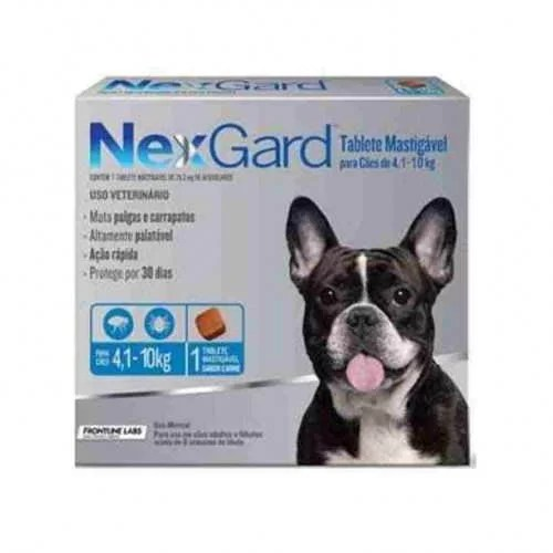 Antipulgas NexGard 4 a 10 kg