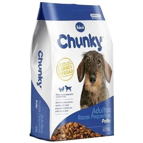 Comida para Perros Chunky razas pequeñas