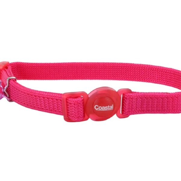 COASTAL Collar Gato Safe Rojo