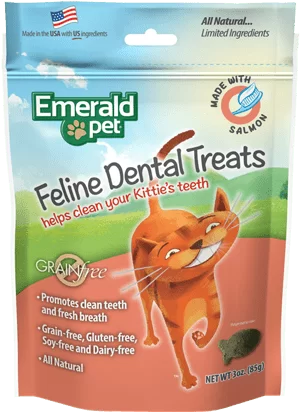 EMERALD PET CAT SNACK DENTAL Salmon