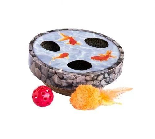 Petstages Rascador Gato Wobble Pond