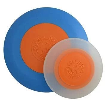 PLANET DOG FRISBEE ZOOM AZUL-NARANJA SMALL