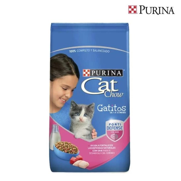 Cat Chow Gatitos FortiDefense