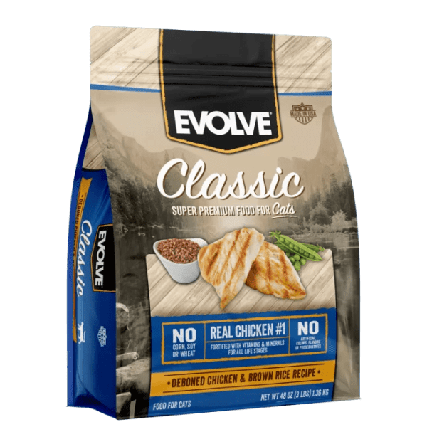 EVOLVE Cat Classic Chicken- Pollo