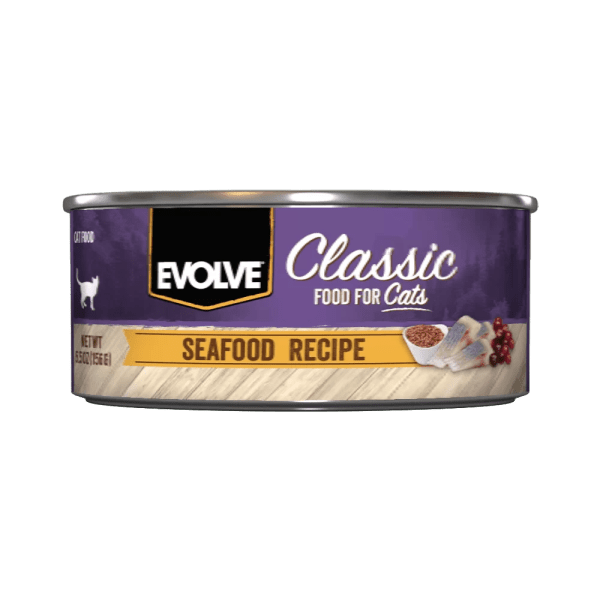EVOLVE CAT LATA SEAFOOD 156 GR