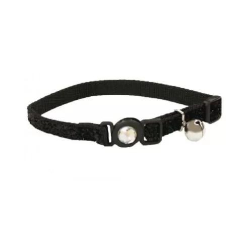 COASTAL Collar Gato Brillante Negro