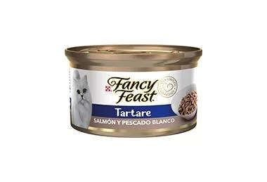 Fancy Feast Tartare Salmon Y Pescado Blanco