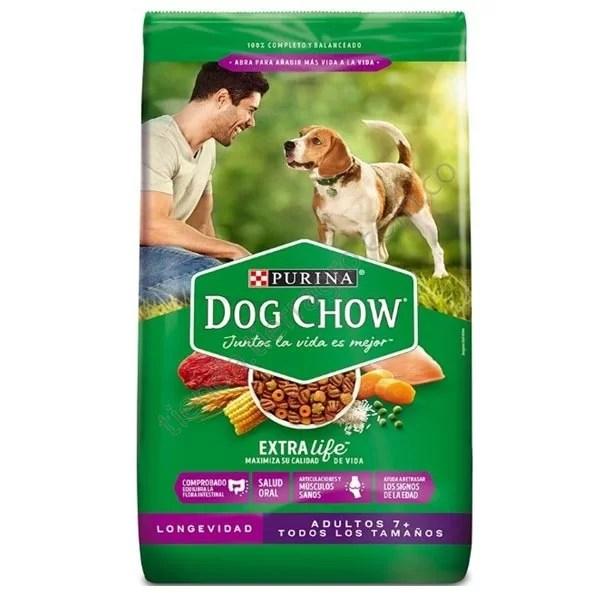 Dog chow Longevidad senior 7+