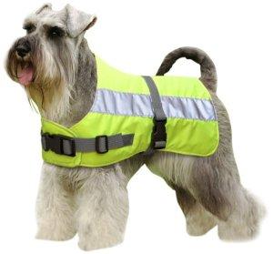hi vis waterproof dog coats