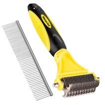 BEST DOG DEMATTING COMB FOR MATTED HAIR