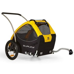 best dog bike trailer Burley
