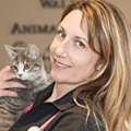 Dr. Carolyn Lariviere DVM, Walden Animal Hospital, Cookie's vet