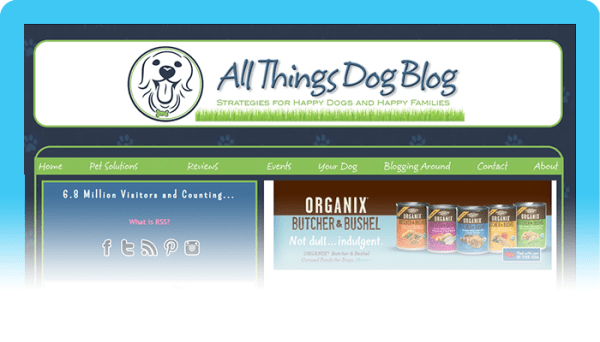 Best Dog Blogs of 2020:  All Things Dog Blog