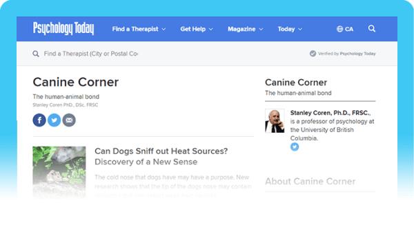 Best Dog Behavior Blog: Canine Corner
