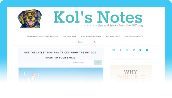 Best Dog Blogs of 2020: Kol's Notes