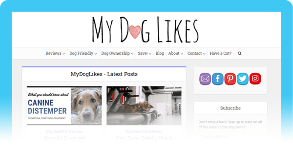 Best Dog Blogs of 2020: My Dog Likes