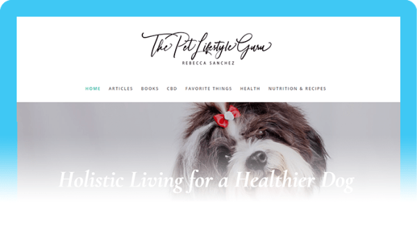Best Dog Blogs of 2020:  The Pet Lifestyle Guru