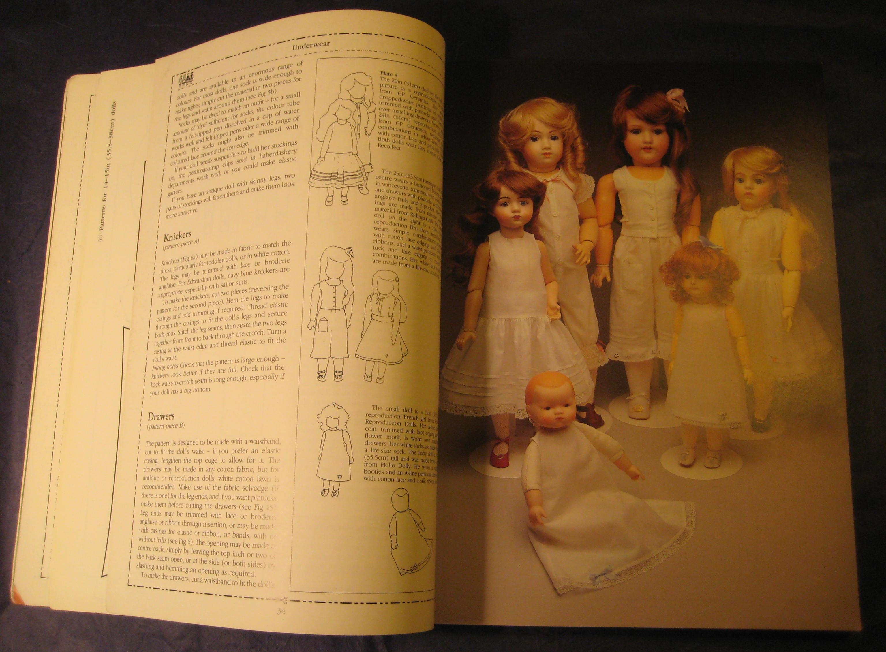Dolls Dressmaker The Complete Pattern Book Venus Dodge