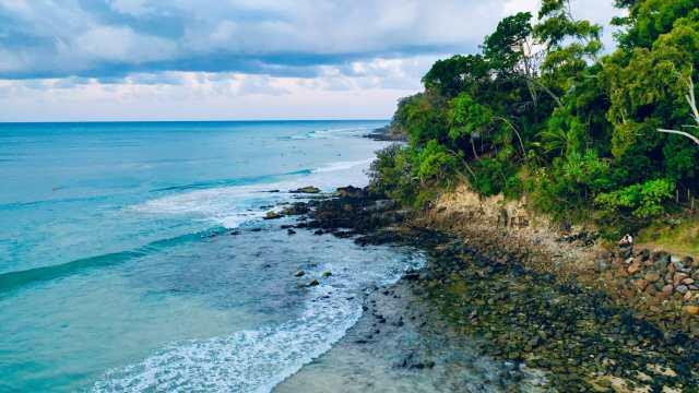 Pristine Coastline at the Sunshine Coast, QLD