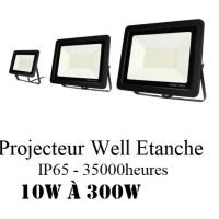 Projecteur LED WELL CN 6500K