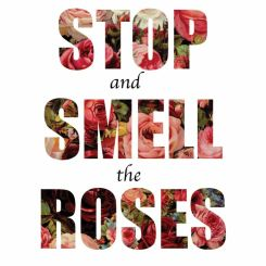 stop-and-smell-the-roses-life-quotes-sayings-pictures