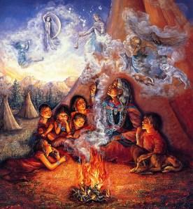 ...индейских детей приучали запоминать свои сны, рассказывать о них и пытаться их анализировать