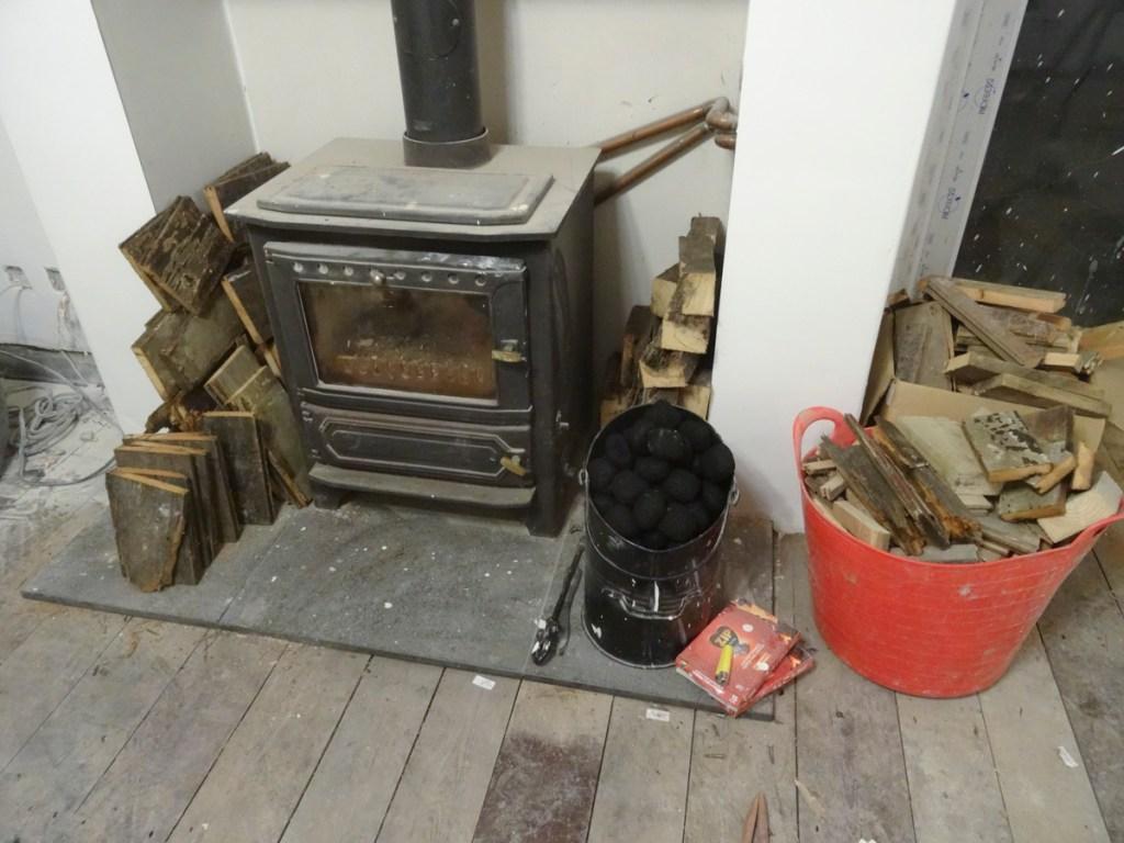 lots of scrap left to burn
