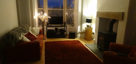 Finished Living Room - almost